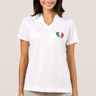 Polo Italy Souvenir ITALIE DRAPEAU national en coeur