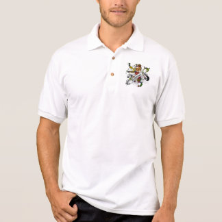 Polo Lion de tartan de Buchanan