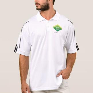 Polo Logo de coutume de chemise de tennis d'hommes