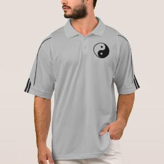 Polo Modèle noir et blanc d'illustration de Yin Yang