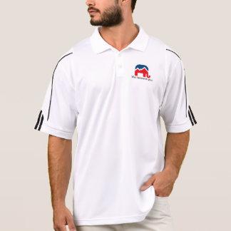 Polo Nous croyons en vous. Chemise de golf
