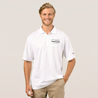 Polo Palette latérale forte - Nike jouent au golf