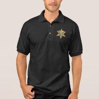 Polo Pat Russo pour le polo de noir de shérif