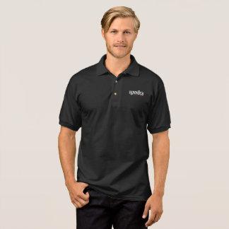 Polo Polo de noir du logo de Hank (hommes)