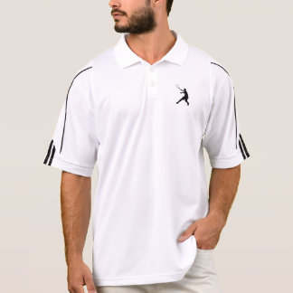 Polo Polo de tennis d'Adidas pour le blanc des hommes |