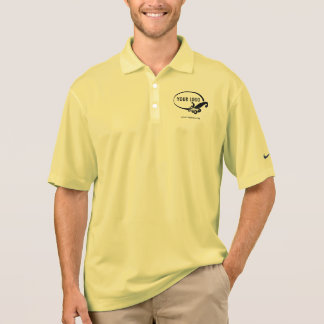 Polo Polo fait sur commande d'affaires de logo de