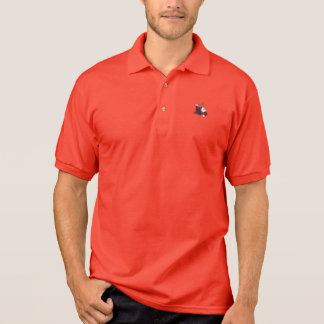 Polo Rouge officiel de polo de HOTD