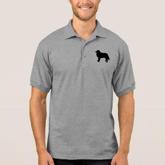 Polo Silhouette de chien de montagne de Bernese