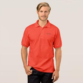 Polo Usage de Ryan Carter - polo - rouge