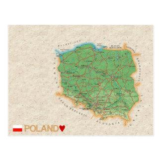 ♥ Pologne de CARTES POSTALES de CARTE