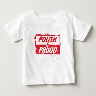 Polonais et fier t-shirt pour bébé