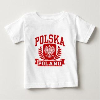 Polska Pologne T-shirt Pour Bébé
