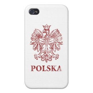 Polska vintage coque iPhone 4/4S