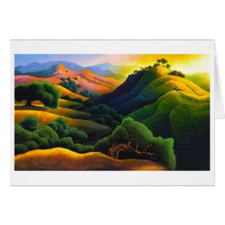 Poly canyon cartes de vœux