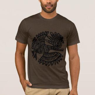 Poly-Coton américain d'habillement de motif T-shirt