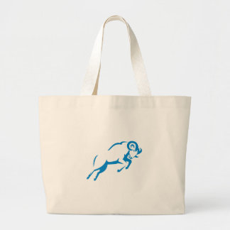 Polygone de tête de chat de Lynx bas Grand Tote Bag