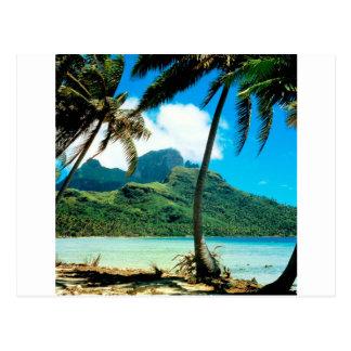 Polynésie française maximale d'Otemanu d'île Carte Postale
