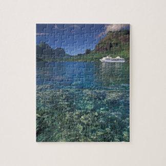 Polynésie française, Moorea. Baie de cuisiniers. B Puzzle