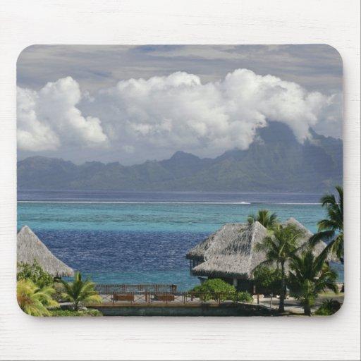 Polynésie française, Moorea. Une vue de l'île Tapis De Souris