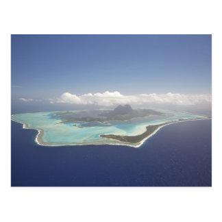 Polynésie française, Tahiti, Bora Bora. Carte Postale