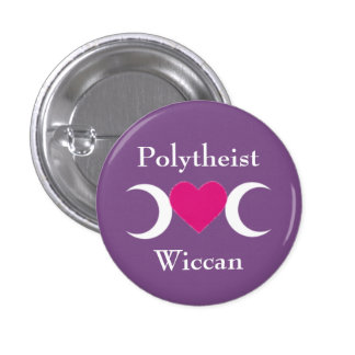Polytheist Wiccan Badge