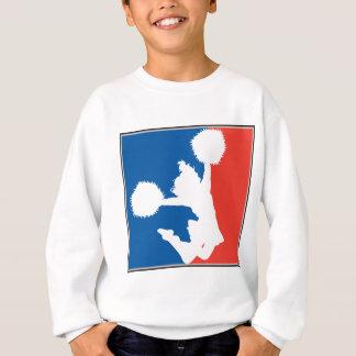 Pom-pom girl encourageant l'acclamation sweatshirt
