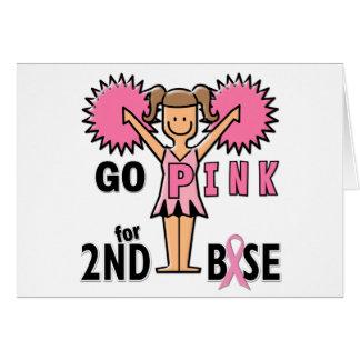 Pom-pom girl pour la 2ème base cartes