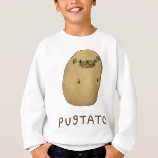 Pomme de terre de carlin de Pugtato Sweatshirt