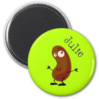Pomme de terre de danse magnet rond 8 cm