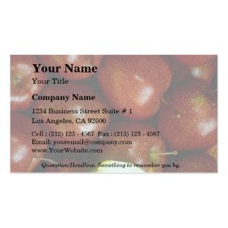 Pommes Carte De Visite Standard