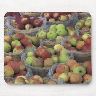 Pommes de Macintosh de l'état de New-York dans les Tapis De Souris