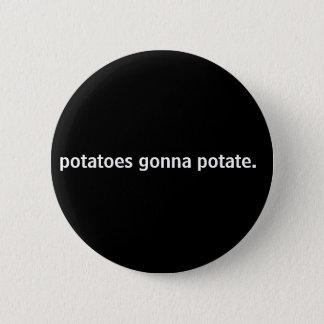 pommes de terre allant à potate. pin's