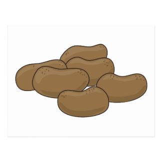 Pommes de terre carte postale