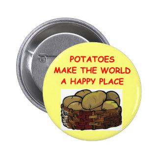 pommes de terre de pomme de terre badge