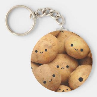 Pommes de terre porte-clé rond