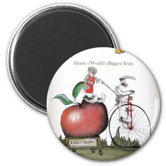 Pommes de Yorkshire d'amour grandes Aimant