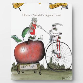 Pommes de Yorkshire d'amour grandes Plaque Photo