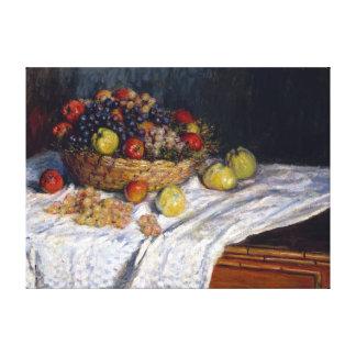 Pommes et raisins de Claude Monet Toiles