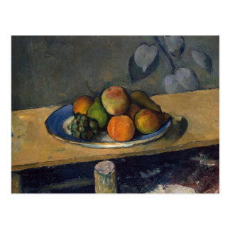 Pommes, poires et raisins, c.1879 carte postale
