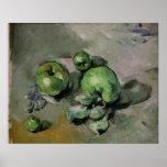 Pommes vertes, c.1872-73 poster