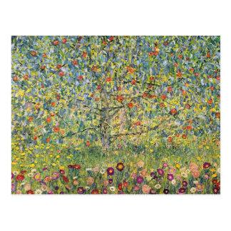 Pommier Par Gustav Klimt, art vintage Nouveau Cartes Postales