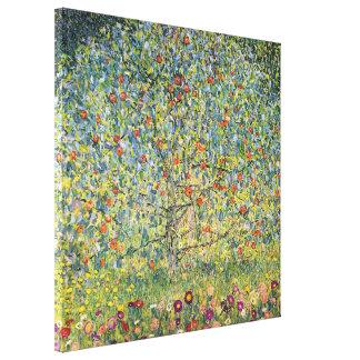 Pommier Par Gustav Klimt, art vintage Nouveau Toiles