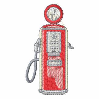 Pompe à gaz de style ancien #1 veste brodée