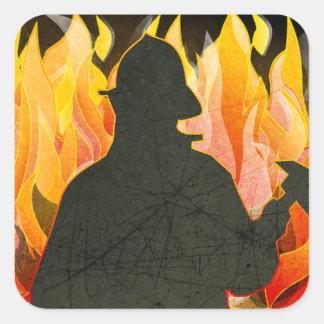 Pompiers, Firewomen, autocollants de