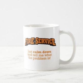 Pompiers/problème Mug