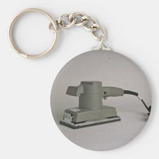Ponceuse de feuille porte-clé rond