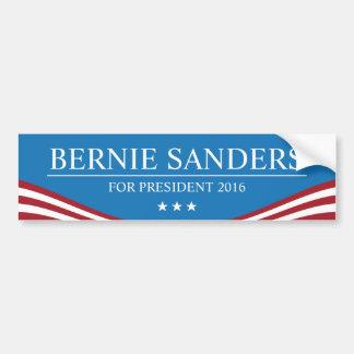 Ponceuses de Bernie pour le président 2016 moderne Autocollant De Voiture