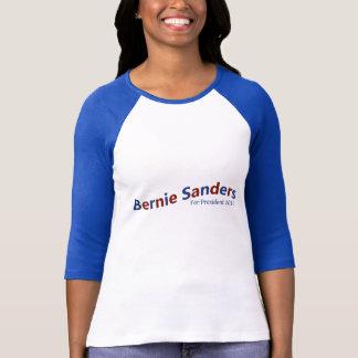 Ponceuses de Bernie pour le président T bleu et T-shirt