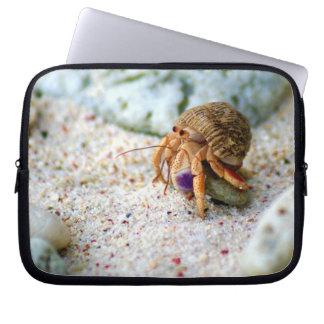 Poncez le crabe, Curaçao, îles des Caraïbes, photo Housses Ordinateur Portable