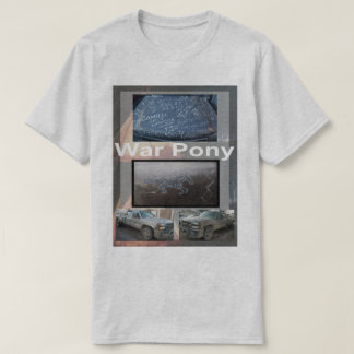 Poney de guerre T T-shirt